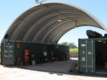 Container Shelter Fixed Lights