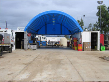 Container Shelter Extra Storage