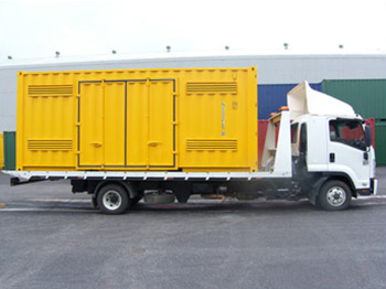 Dangerous Goods Container Transport