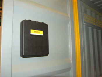 Dangerous Goods Container MSDS Box