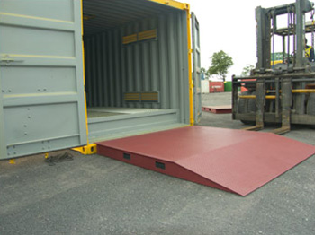 Dangerous Goods Container ramp