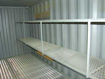 Dangerous Goods Shelving