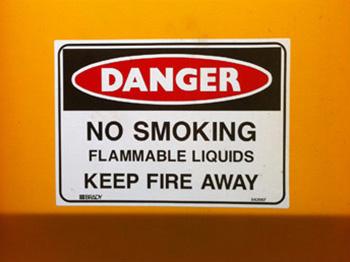 Dangerous Goods Signage