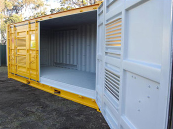 Dangerous Goods Side Opening Shipping Container