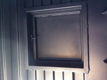 Training Container interior hatch