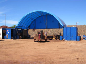 Open Container Shelters