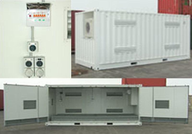 Insulated hazardous goods storage