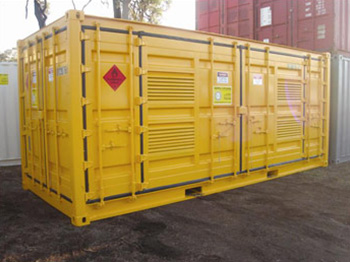 Dangerous Goods Container Side Opener