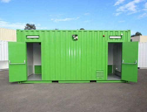 Custom Switchroom Container